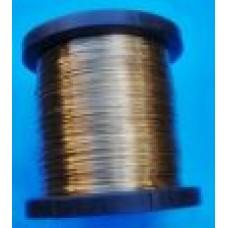Drut mosiężny fi 0,6 mm dłg.10 mb